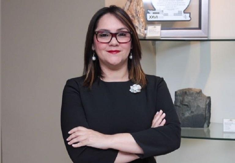 Elizabeth Mena, presidente de ADOEXPO.