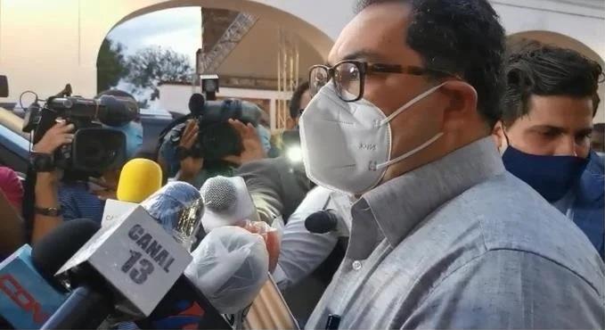 Mario Lama anuncia gobierno realizará pruebas masivas de covid.