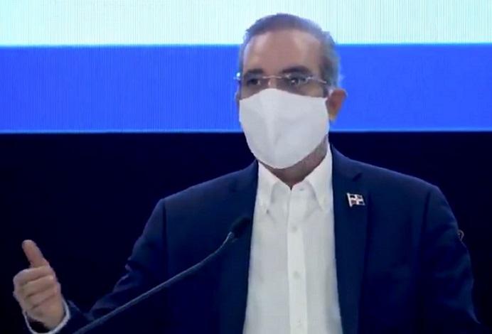 Presidente Luis Abinader anuncia medidas para combatir COVID-19.