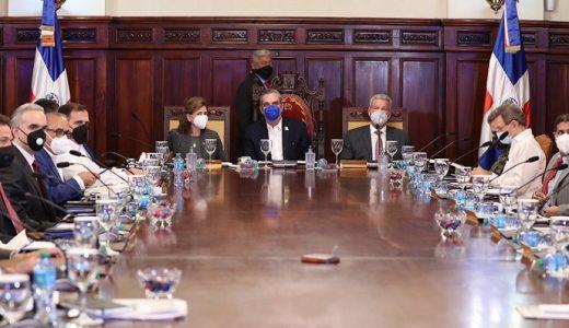 Consejo de Ministros del gobierno de Luis Abinader. (Fuente: Presidencia de la República)