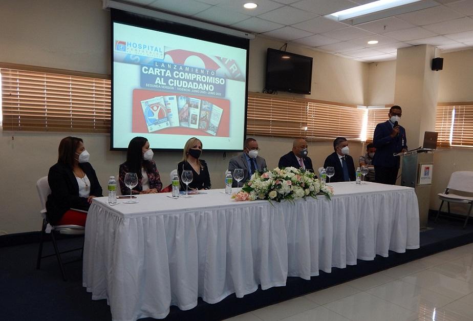 Hospital Hugo Mendoza presenta su Carta Compromiso.