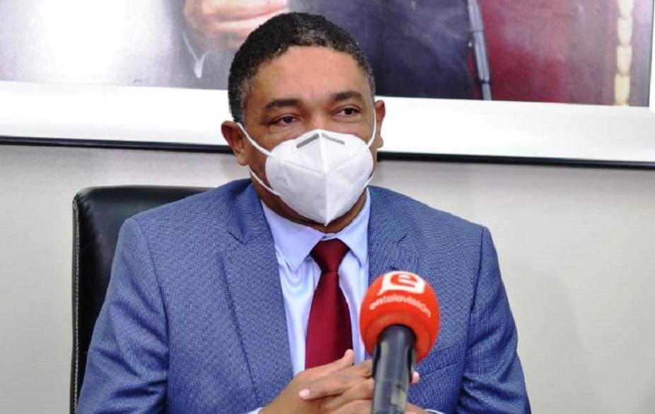 Iván Lorenzo, vocero del PLD el Senado.
