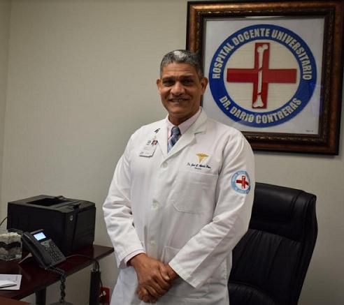 José Aponte exdirector del Hospital Darío Contreras.
