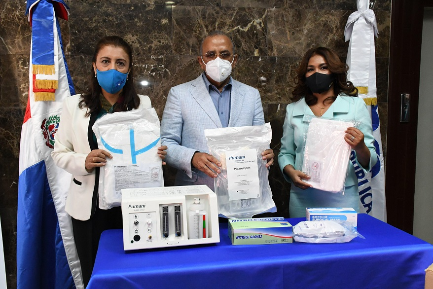 Salud Pública recibe 22 ventiladores pediátricos.
