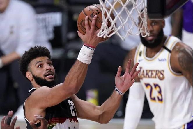 NBA: Nuggets con Jamal Murray dominan a los Lakers