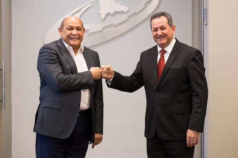 Rafael Santos Badía y Porfirio Peralta