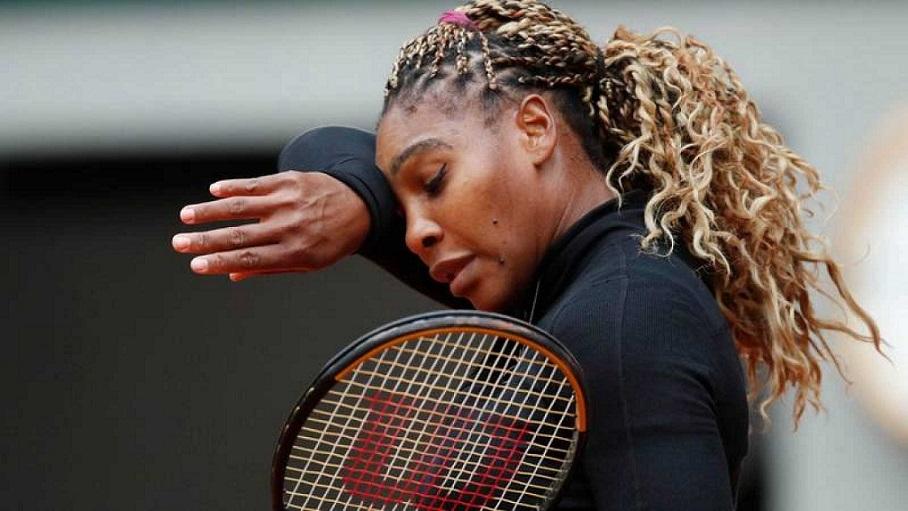 Serena Williams abandona torneo Roland Garros por lesión.