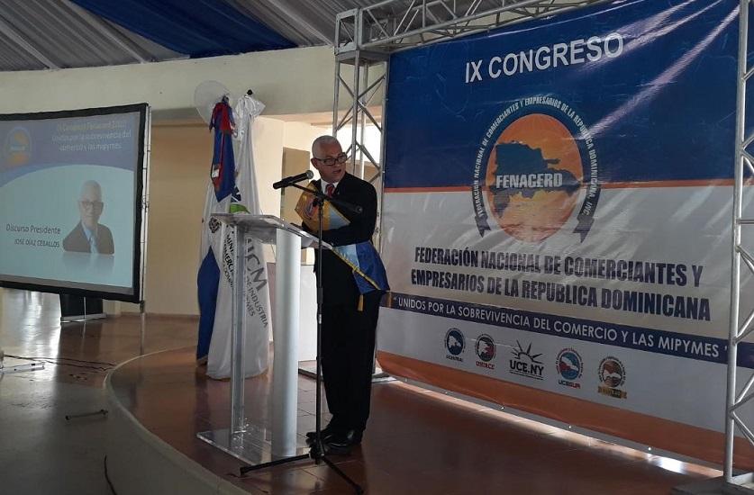 José Díaz asume como presidente de FENACERD.