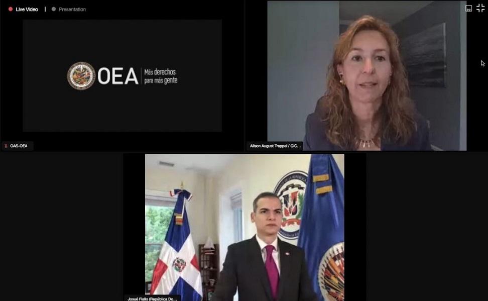 RD asume presidencia Comité Terrorismo de la OEA.