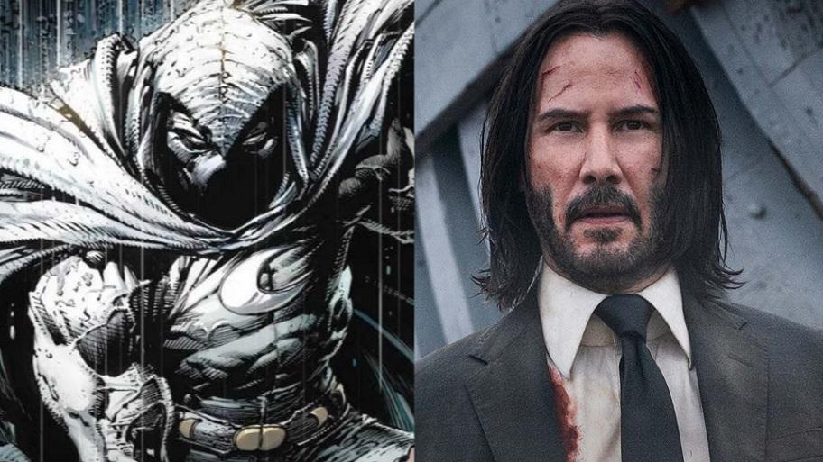 Keanu Reeves sigue en el radal de Marvel para película.