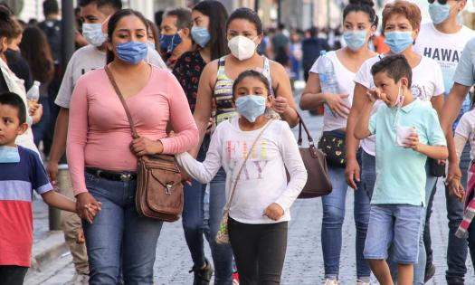 México supera las 73 mil muertes por COVID.
