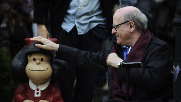 Fallece el historietista Quino, creador de 'Mafalda'