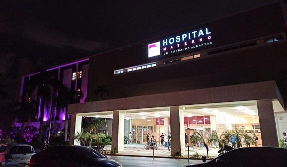 Hospital Materno asiste embarazada que le cayó una pared y recibía atenciones en el Ney Arias Lora
