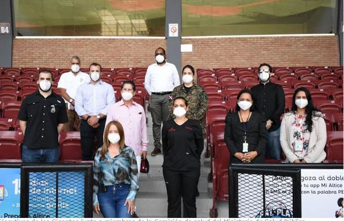 Béisbol: Gigantes reciben comisión de salud