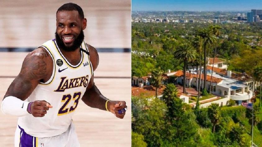 LeBron James acaba de desembolsar 51 millones de dólares australianos por una mansión en Beverly Hills. (Fuente: Getty/TMZ)