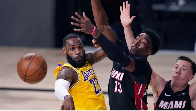 NBA: Los Lakers le pasaron por encima a Heat y lo superan 116-98