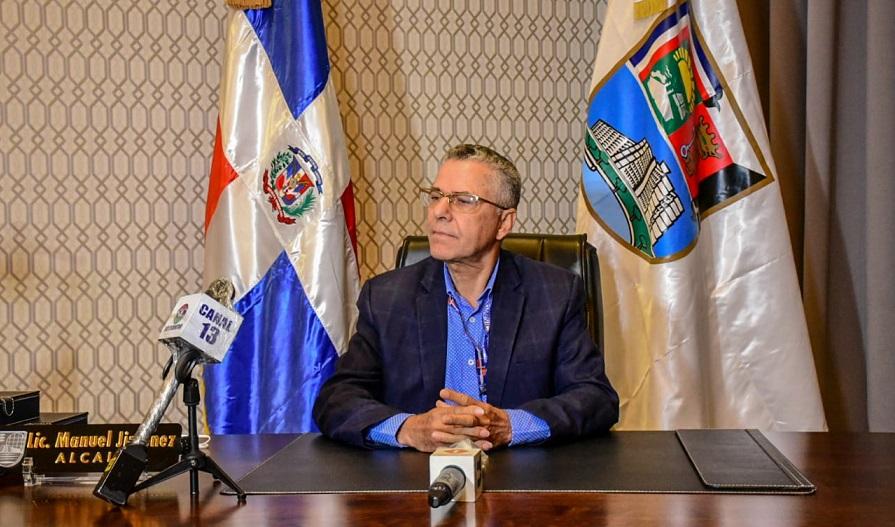 Manuel Jiménez, alcalde de Santo Domingo Este.