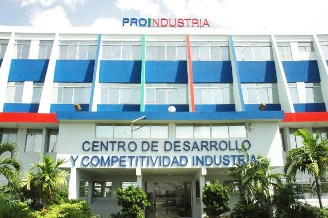 PROINDUSTRIA sede central en Santo Domingo.