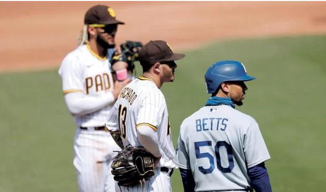 Dodgers y Padres en gran batalla