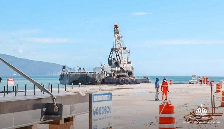 Puerto multipropósito de Barahona (Fuente: Presidencia)