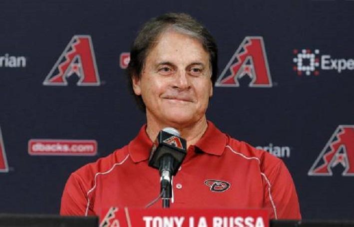 Tony La Russa, manager de los Angelinos.