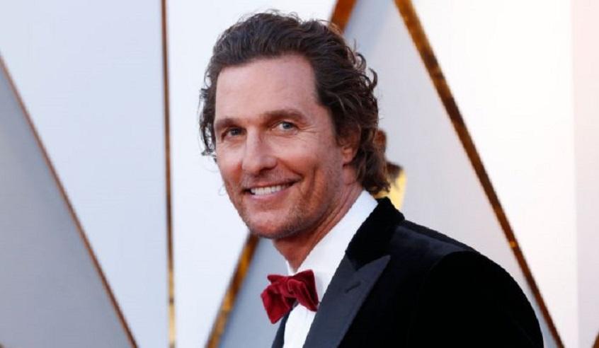 El actor Matthew McConaughey en la gala de los Oscar 2019. (Fuente: Mario Anzuoni / Reuters)