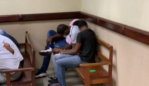 Dictan un año de coerción a tres presuntos agresores de joven Yocairi.