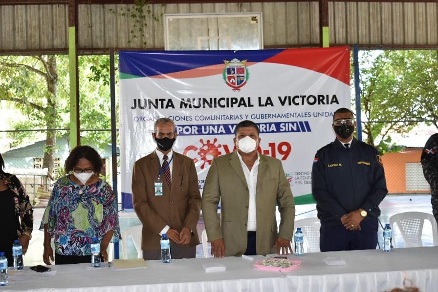 Lanzan plan anti COVID-19 en La Victoria.