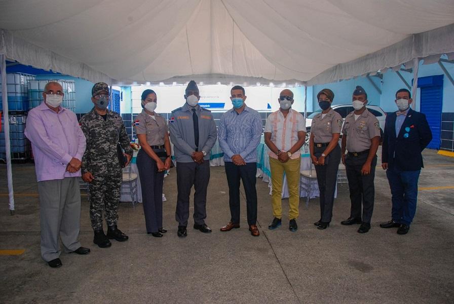 Policía Comunitaria coordina acciones comunitarias en Villa Consuelo.