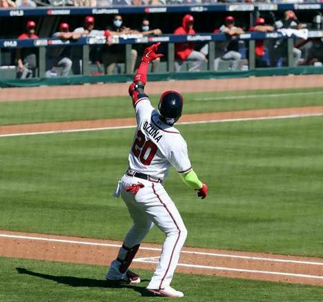 Béisbol: Ozuna y los Bravos barren a Cincinnati