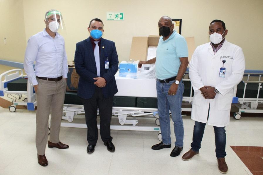 SNS y MSP donan equipos a Hospital Ney Arias.