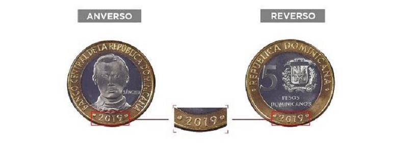 En el país ya circula nueva moneda de RD$5.00