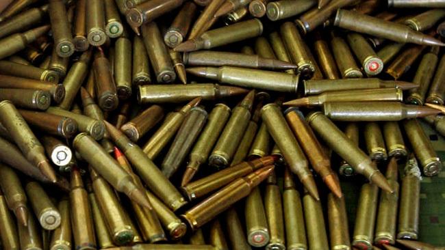 Aduanas decomisa cargamento de municiones de armas de fuego.