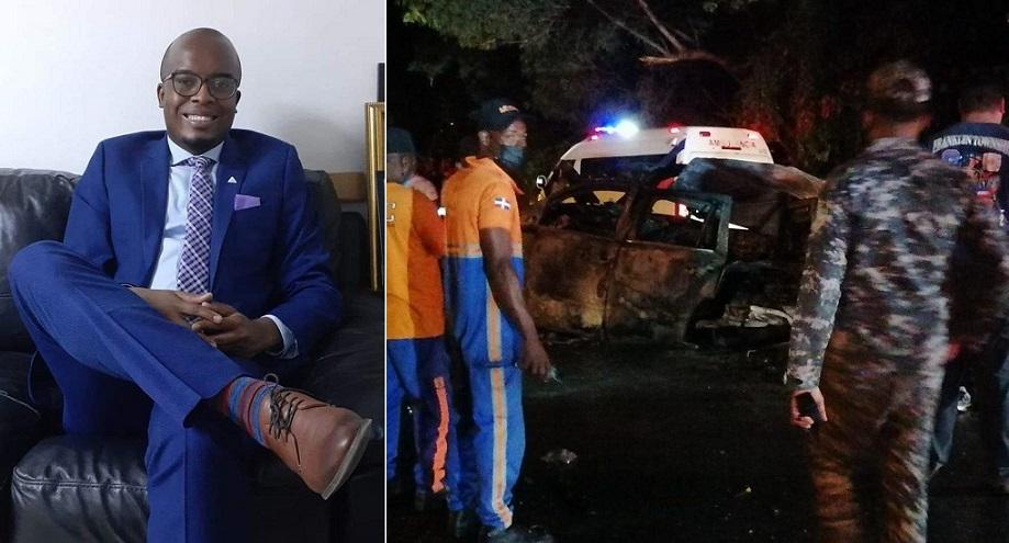 Periodista José Torres sufre accidente de tránsito.