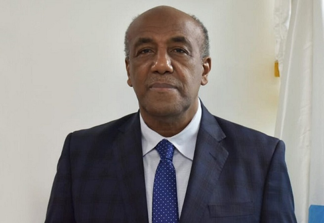 Ministro de Energía y Minas Antonio Almonte.