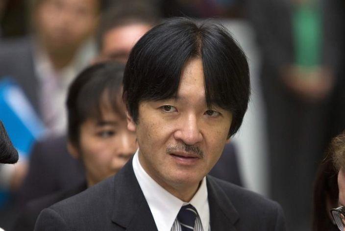 Príncipe nipón Fumihito.