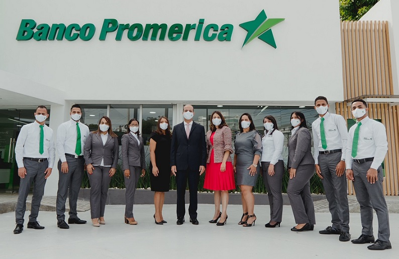 Banco Promerica inaugura sucursal número diez.