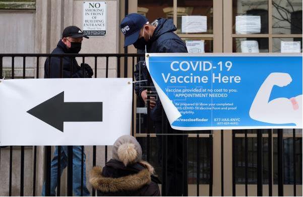 Vacunas covid-19 escasean en EE.UU.