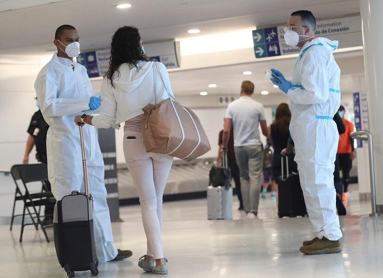 Salud Pública coordina aplicación controles coronavirus en aeropuertos.