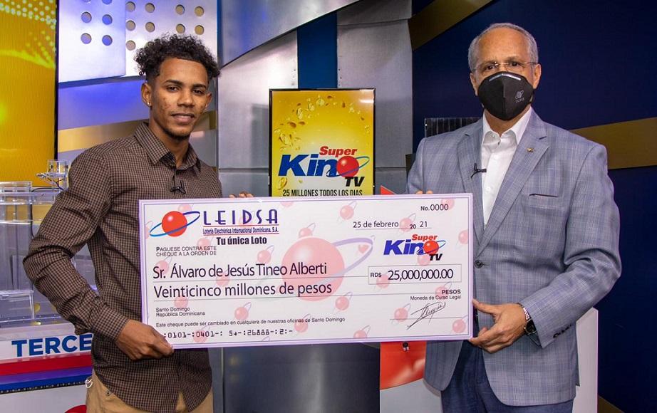 Estudiante de Agronomía gana RD$25 millones en LEIDSA.