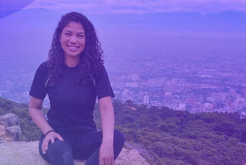 Isleny García reconocida por sus aportes al medio ambiente.