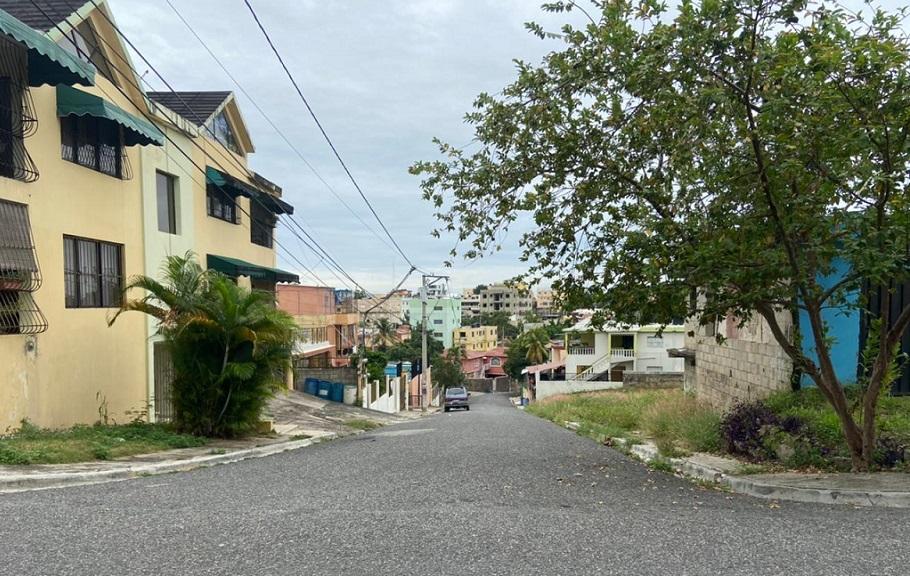 Vista panorámica sector Reparto Rosa de Herrera.