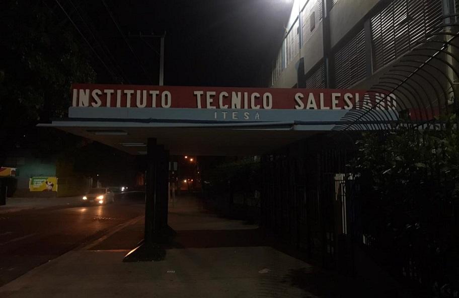Fachada ITESA en sector María Auxiliadora.