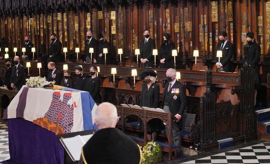 Realizan funeral príncipe Felipe.