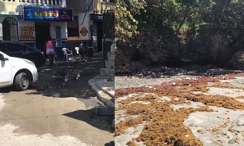 Contaminación afecta sector La Placeta.