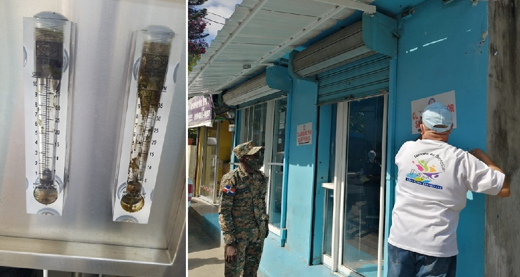 Ministerio de Salud cierra plantas procesadoras de agua e hielo en Haina.