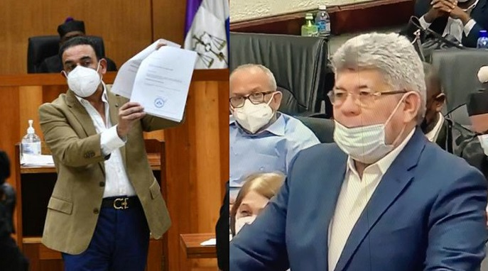 Ratifican coerción a Fernando Rosa y Alexis Medina.