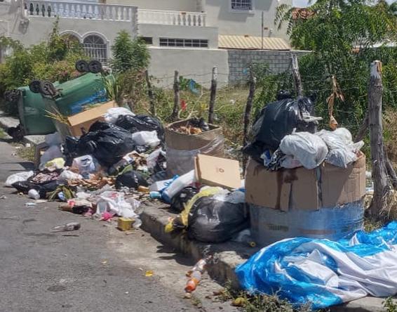 Basura arropa calles de Baní.