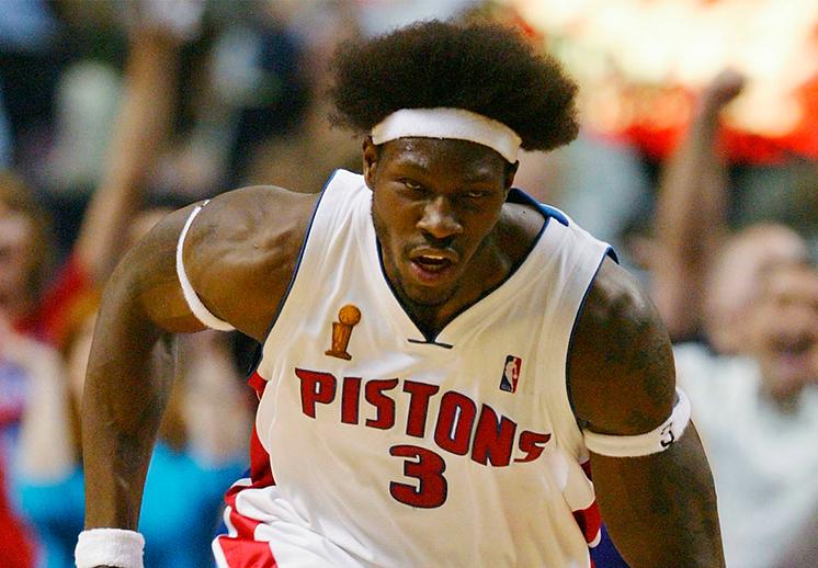 Ben Wallace exjugador Detroit Pistons.