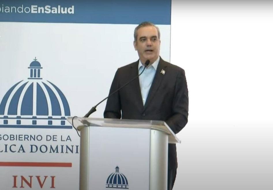 Presidente Abinader inaugura bloques Ciudad Sanitaria.